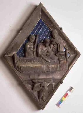 The Last Rites, relief tile from the Campanile
