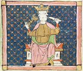 Fol.57v January: Janus