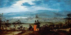 Look at the city of Basel of brother wood