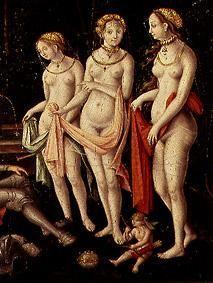 (the three graces detail from the painting the destruction Trojas)