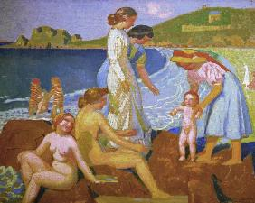 Bathers in Perrso-Guirec