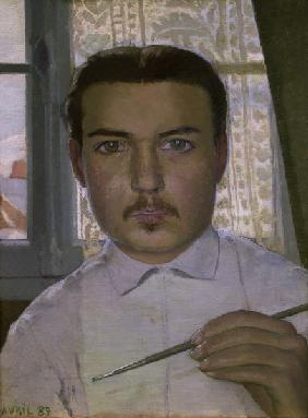 Self-Portrait at the Age