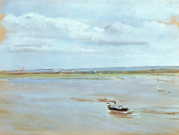 After the Rain, 1902 (pastel on paper)