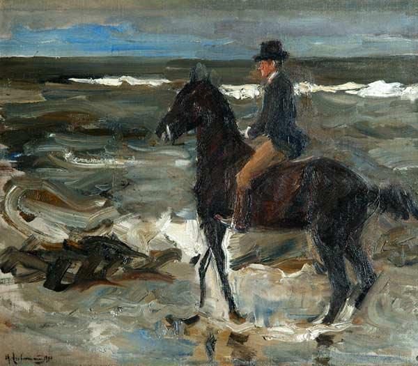 Rider on the Beach