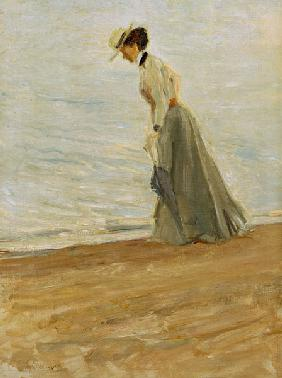 M.Slevogt, lady at the sea