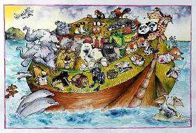 Noah''s Crazy Ark, 1999 (mixed media)
