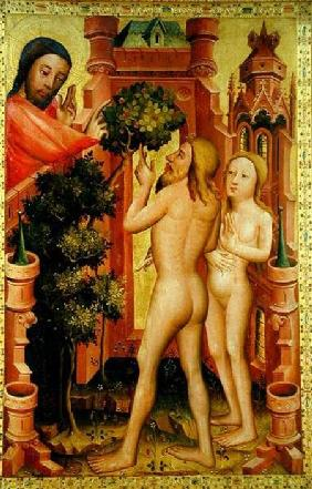The Tree of Knowledge, detail from the Grabow Altarpiece
