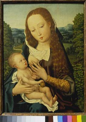 Maria with the child (south Dutch)