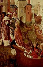 The farewell of St. Ursula to her parents
