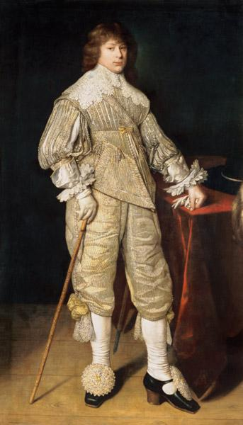 Portrait of a juvenile in courtly clothes