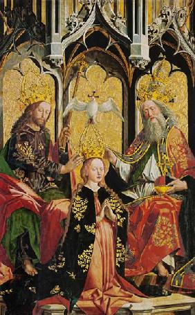 M.Pacher / Coronation of the Virgin Mary