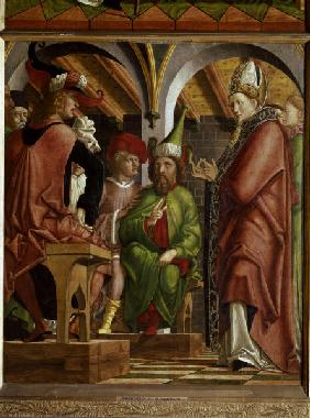 Pacher / Disputation of St. Augustine