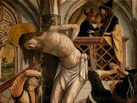 Pacher Michael - The Flagellation of Christ
