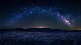 Badwater Under The Night Sky