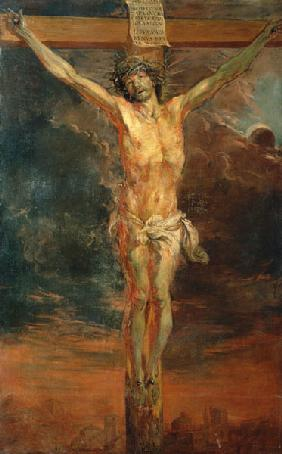 Christ at the cross