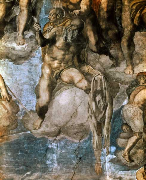 Michelangelo Sistine Chapel Last Judgment. Sistine Chapel Ceiling: The