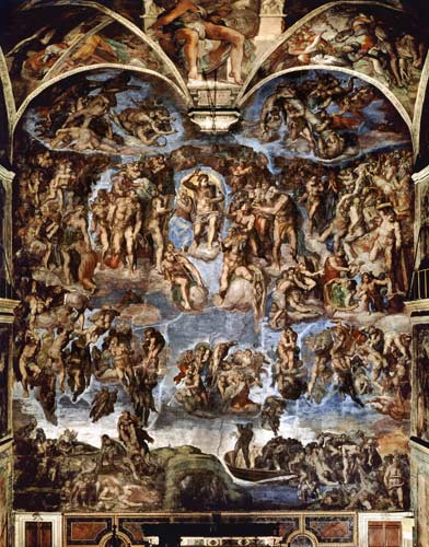 Sistine Chapel: The Last Judgement - Michelangelo ...