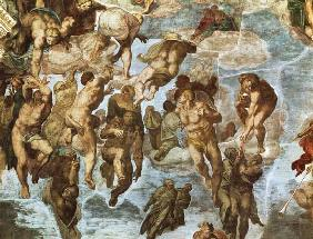 (these delivered the Last Judgement for part -- for a Sistine chapel)