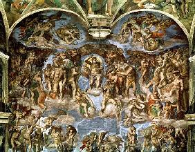 Sistine Chapel: The Last Judgement, 1538-41 (pre-restoration)