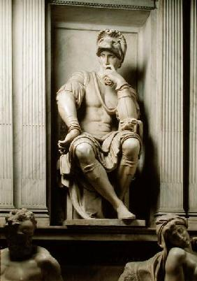Statue of Lorenzo de' Medici (1449-92) from the Tomb of Lorenzo de' Medici