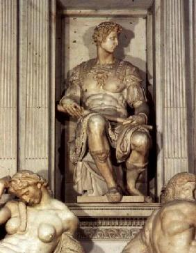 Tomb of Giuliano de' Medici  (detail)
