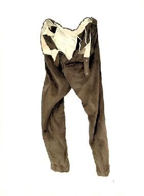 Brown Corduroy Trousers (Michael) 2003 (w/c on paper)