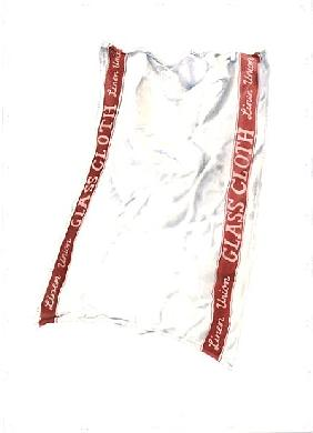Glass Cloth, 2004 (w/c on paper)