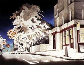 The Palmerston: Gateway to Chetwynd Road, 1998 (w/c on paper)