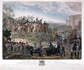 Napoleon Paying Homage to the Courage of the Vanquished, during the Surrender of Ulm, 20 October 180