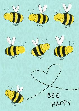Bee happy 6