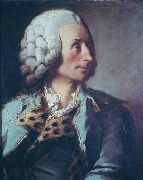Portrait of Claude Nicolas Le Cat (1700-68)