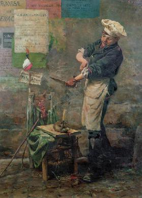 Rat Seller during the Siege of Paris