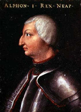 Alfonso V the 'Magnanimous', King of Aragon