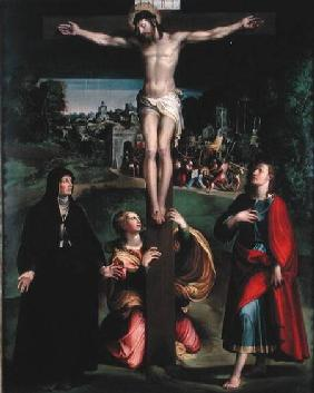 Crucifixion with the Virgin, Mary Magdalene and St. John the Evangelist
