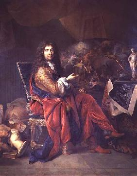 Portrait of Charles Le Brun (1619-90)