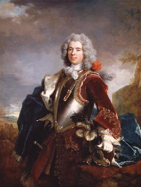 Portrait of Prince Jacques 1er Grimaldi (oil on canvas )
