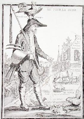 The Village Peasant, Born to Suffer, c.1780 (see also 101779)