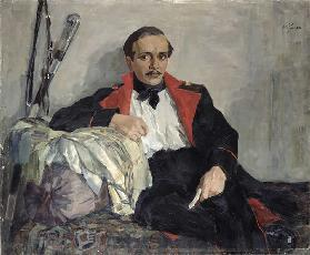 Portrait of Michail Lermontov (1814-1841) 1941