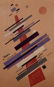 Big suprematistische composition
