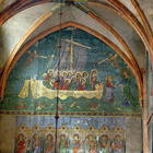 Peter's Ship: Storm on Lake Tiberias, after Giotto's 'Naviglia' (wall painting) see:106074 for detai