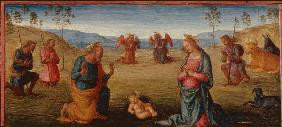 Adoration of the Child / Perugino