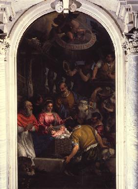 Adoration of the Shepherds / Veronese