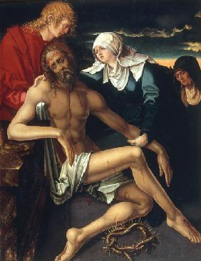 A.Dürer / Lamentation of Christ / Paint.