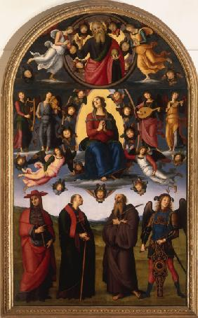 Assumption of Virgin Mary / Perugino