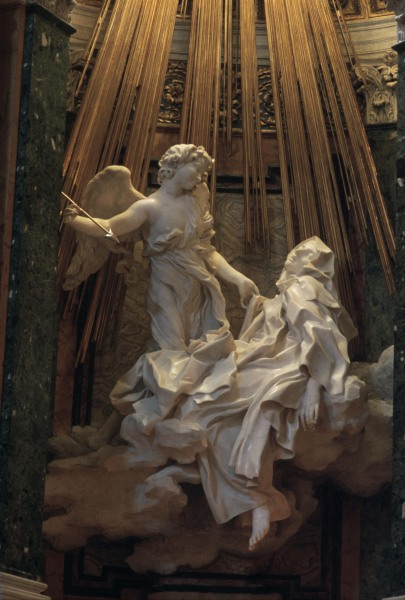 Bernini Ecstasy Of St Theresa Gianlorenzo Bernini As