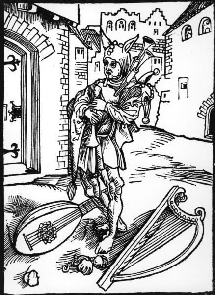 Le Nef des Fous – de Sebastian Brant -  Brant_ship_of_fools__woodcut-4