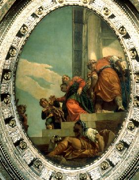 Banishment of Queen Vashti / Veronese