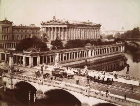 Berlin, Alte Nationalgalerie / Foto 1900