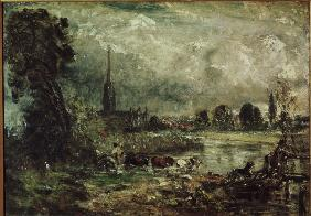 Constable / Salisbury Cathedral / 1829