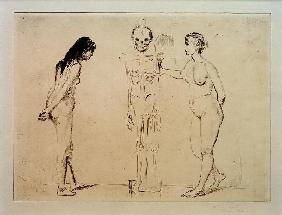 The Women and the Skeleton
